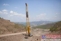 山河智能履带式强夯机助力承德机场建设