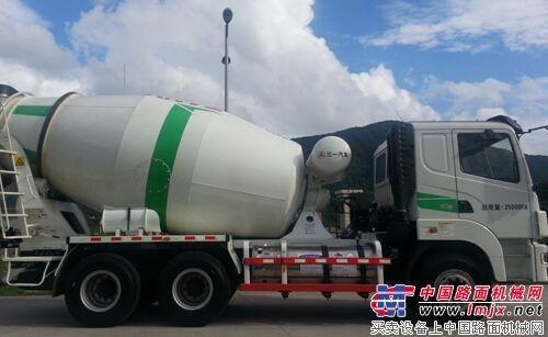体验三一LNG搅拌车非凡节油之旅