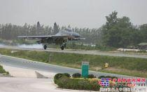 天顺长城SP120—2摊铺机郑民高速助力战机起降