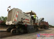 维特根产品在海南环岛高速公路西线改建工程大显身手