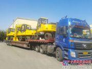 沃尔华6台系列挖掘机出口菲律宾