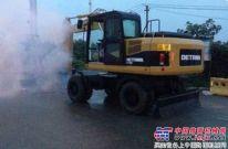 奇瑞重工挖掘机助力南京青奥会