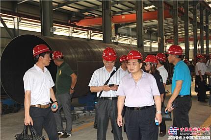 客戶參觀鐵拓機械工廠