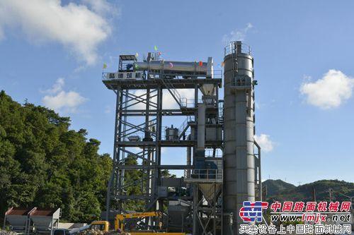 陆德ZLB80型沥青再生设备进入浙江