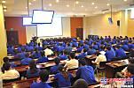 安徽合力举行2014年新入司大学生拜师仪式