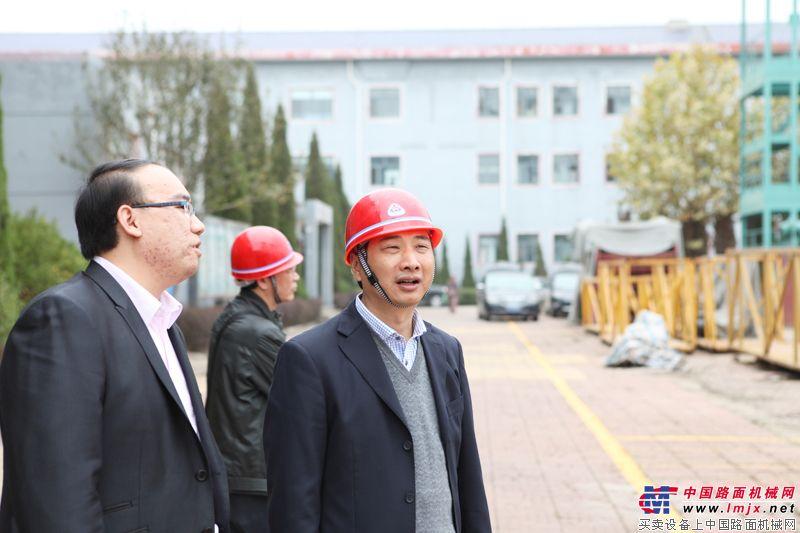 華通動力總裁與泰安岳首封崇總監交流