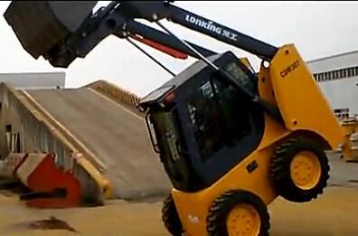 司机开挂 玩转龙工滑移装载机