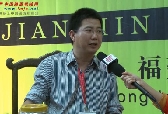 对话闽工机械副总经理刘国强