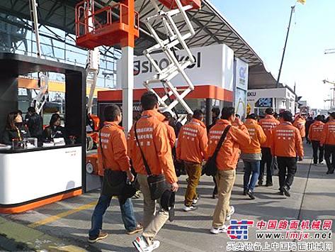 中国路面机械网用户参观团