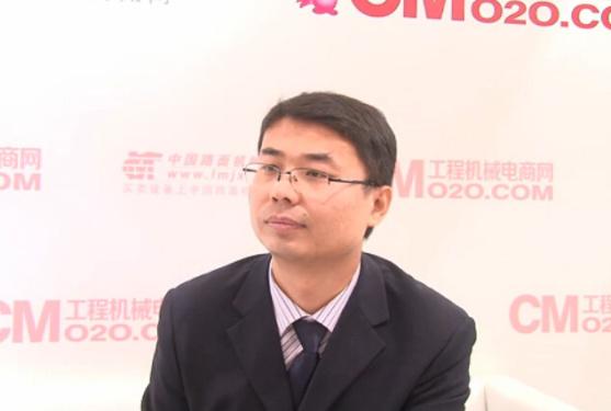 达刚路机技术总监周毅接受采访