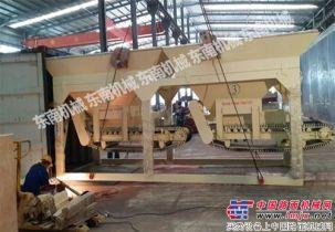 东南机械WCB500模块式稳定土厂拌设备再次成功销往卡塔尔