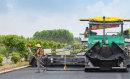 福格勒超级2100-3 L摊铺机在南宁外环高速应用