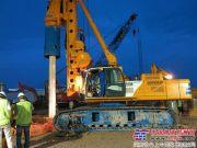 宝峨新型BG 30 (BH 80主机) 旋挖钻机展露优势