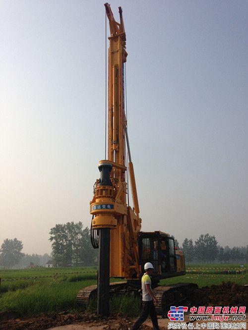 徐工基础再获国家电网定制旋挖钻机订单 情定徐工·相约百年——