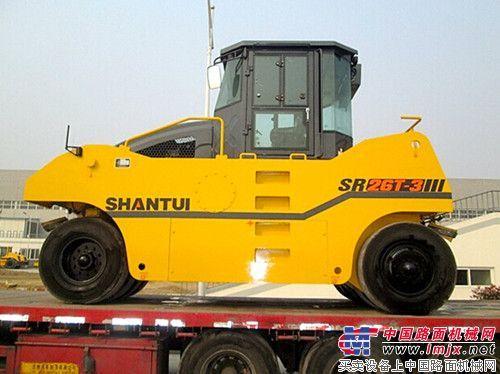 山推SR26T-3轮胎压路机(升级版)畅销海外