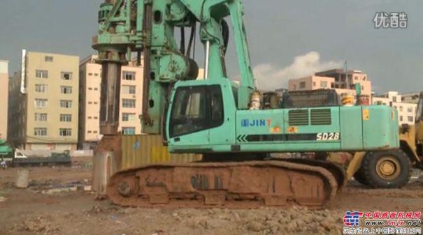上海金泰SD28广州施工案例