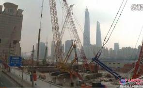 上海金泰SG60A外滩施工案例