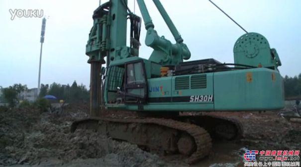 上海金泰SH30H佛山施工案例