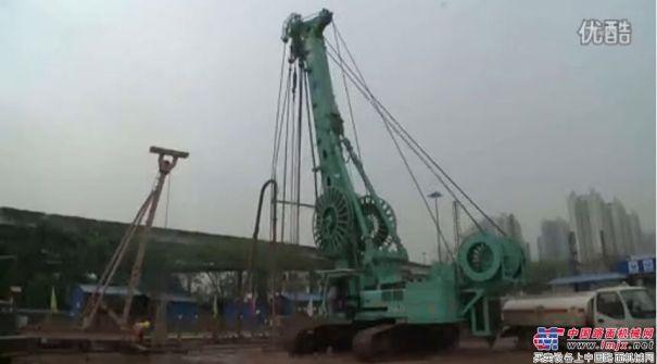 上海金泰SX40广州坑口地铁站施工案例