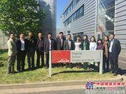 中国工程机械工业协会技术考察团一行参观考察林德液压德国总部