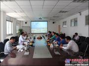 日立建機(上海)新任總經理走訪合肥中建