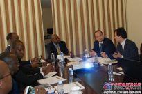 国机重工吴培国董事长拜会卢旺达基础建设部长及驻华大使