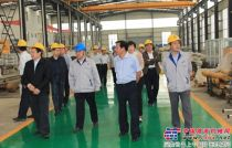 省人大财经委、省政府节能办领导到山东临工再制造公司考察调研