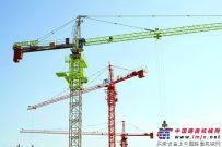 中联重科首台新涂装塔机惊艳市场