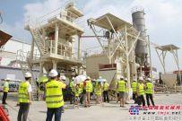 四川省散装水泥和预拌砂浆推广发展协会组织考察团赴南方路机考察调研