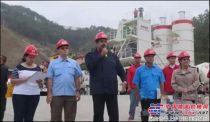 委內瑞拉總統馬杜羅對三一設備贊不絕口