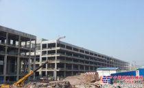 颠覆传统厂房建设模式树立高空作业新典范——吉尼助力京东方重庆工厂顺利投产