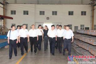 中煤能源集团董事长王安到石煤机公司调研