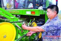 跨区机收有中联重科谷王 作业收益有保障
