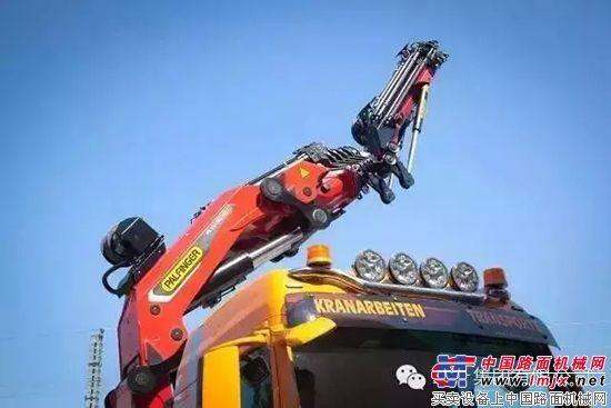 帕尔菲格发布新款125吨·米32吨能级随车吊