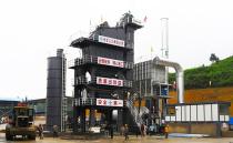 日工添助力,黔地卧长龙——日工5000型沥青混凝土拌合站助力安江高速公路建设