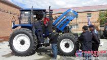 雷沃拖拉机蒙古用户培训班顺利结业