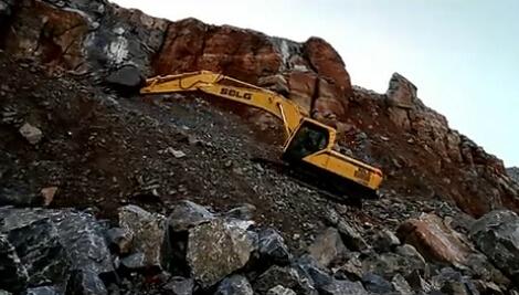 山东临工挖掘机:可靠承载重托