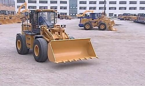 龙工855B轮式装载机介绍视频