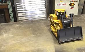 令人惊叹的3D卡特彼勒D8R推土机