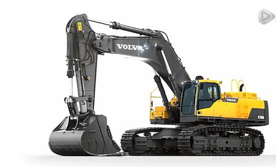 沃尔沃EC750D挖掘机上市 官方宣传视频