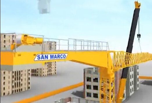 """一个动画告诉你塔吊是如何""""长高""""的"""