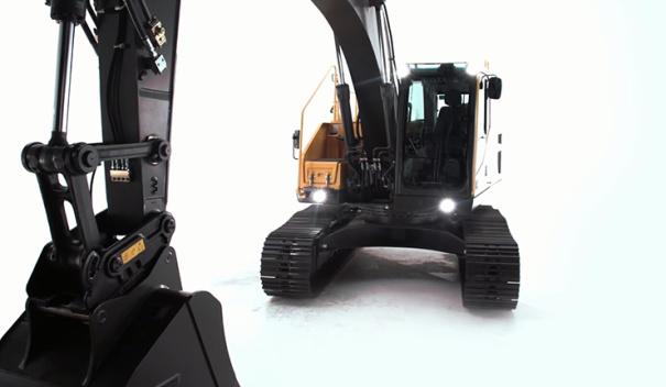 沃尔沃EC220E挖掘机