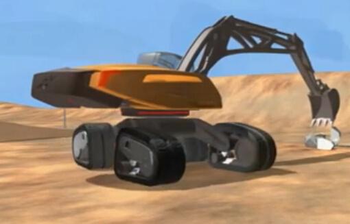 沃尔沃概念挖掘机,太炫酷了!