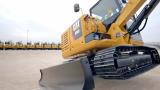 全新Cat E系列小型液压挖掘机表演视频