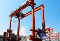 卡尔玛为珠三角区最大的内河集装箱码头进行龙门吊起重机钢结构维修