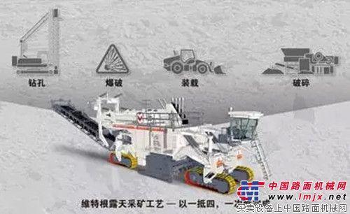 维特根露天采矿工艺——引领采矿行业的新趋势