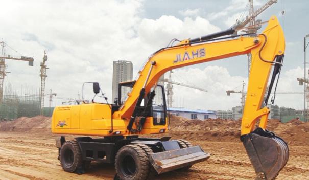 嘉和JHL135轮式挖掘机