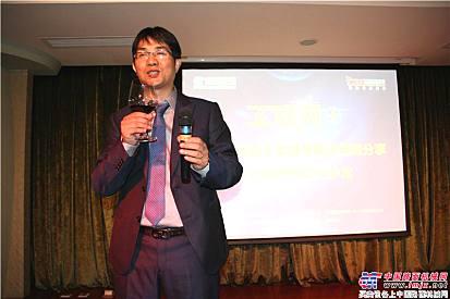 中国路面机械网、工程机械电商网总经理方剑仙