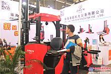 2015年亚洲国�际物流展――珠海海新机电展区