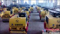 国机重工(洛阳)小型压路机批量出口非洲